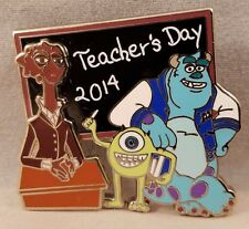 National Teachers Day 2014 Monsters Inc Dean Hardscrabble Mike Sulley Disney Pin