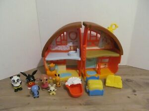 BING BUNNY BUNDLE / JOB LOT HOUSE ACCESSORIES AND 6 FIGURES AGE 2+
