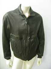 Vintage AVIREX G-2 Brown Leather Flight Jacket USA MADE Size 42