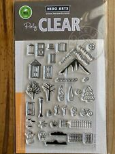 Hero Arts Clear Stamps 3-D House Essentials CL885 New