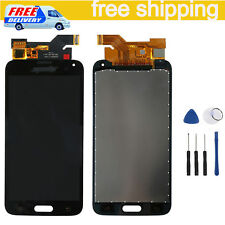 Per Samsung Galaxy S5 i9600 G900F LCD Display Touch Screen Digitizer Nero Black