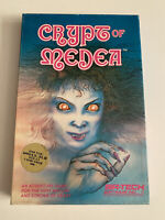 CRYPT OF MEDEA*Vintage & Rare Role Playing Game*Tested & Works*Apple II*Sir Tech