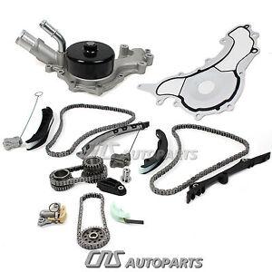 Timing Chain Kit + Water Pump Set For 11-15 Chrysler Dodge Jeep 3.6L Pentastar