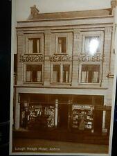 More details for lough neagh hotel antrim  damaged art deco postcard