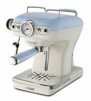 Ariete 1389/14 Vintage Espresso Coffee Machine 0.9 Liter Water Tank 15 bar Blue