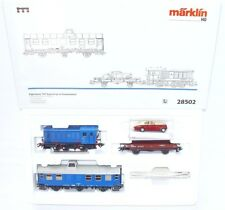 Marklin HO AC British Army WWII 1945 RCT V-36274 LOCOMOTIVE + WAGON Set MIB`90!