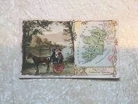 1800's Arbuckle Coffee Adv Trade Card IRELAND Vintage Nations Lot