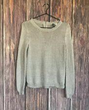 H&M Mauve Glitter Sweater Women's Size 4