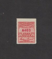 Scott 16T68 - US Telegraph Stamp. Single. MH. OG.   #02 16T68