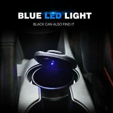1pc Car Ashtray Ash Blue LED Light Smokeless Stand Cylinder for BMW Cup Holder
