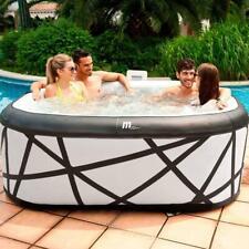 BOLD LOOKING Mspa Soho Self Inflatable Hot Tub Spa Jacuzzi 6 Persons No Tools UK