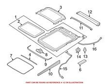 For BMW Genuine Sunroof Cover 54107237591