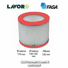 FILTRO LAVABILE A CARTUCCIA PER ASPIRACENERE ASHLEY 100 300 PLUS LAVOR WASH FASA