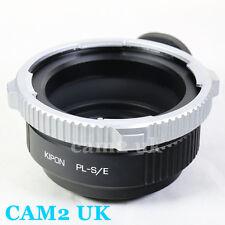 Kipon Arri PL Mount Lens to Sony E Mount Adapter NEX-7 6 A7 A7R A6000 VG900