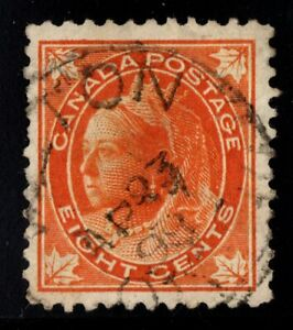 #72 Leaf 8c  Canada used  well centered