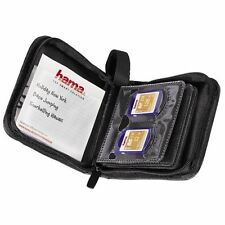 Hama Antistatic High Quality Durable 12 SD/MMC Memory Cards Storage Wallet