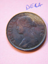 #2, NewFoundLand 1890, Canadian Large Cent Coin , Queen Victoria