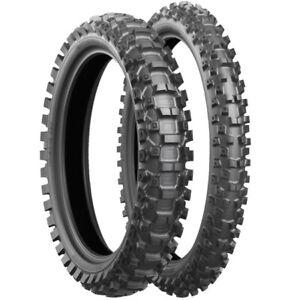 Bridgestone 110/90 -19 62M TT NHS X20 BATTLECROSS Motocross MX Rear Tyre