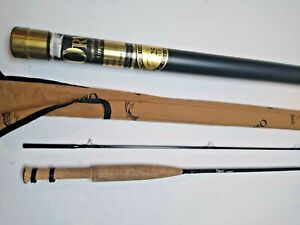 "Orvis Two Piece ""ONE WEIGHT"" Superfine Series Fly Rod w/Sleeve & Tube"
