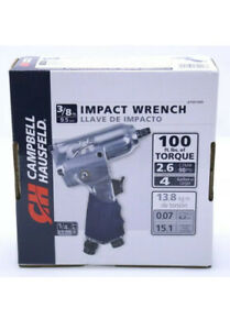 "Campbell Hausfeld 3/8"" Impact Wrench (AT001000) Used Air Compressor Tool"