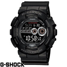 CASIO G-Shock GD100-1B GD-100-1B Black Resin Digital Military X-Large Mens Watch