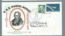 Admiral US grant Sharp signed cover
