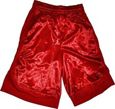 And1 Basketball Shorts Red Drawstring With Pockets Sz Small NWT