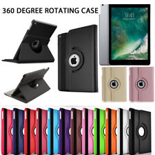 "New iPad Case 360 Rotating Stand Flip Cover For iPad 234 Mini Air 2017 9.7"" 10.5"