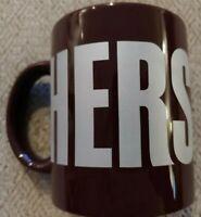 Hershey's Chocolate Coffee Cup Mug Brown Galerie Gift 12 oz