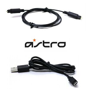 Astro A40 Mixamp TR TXD Cable set for  Connection Optical USB