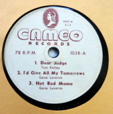 """CAMEO RECORDS 78 rpm 10"""" Country HONKY TONK Sampler Vinyl EP 50's C.Western w331"""