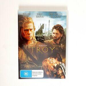 TROY Movie DVD Region 4 AUS Free Postage - Action  Brad Pitt Eric Bana