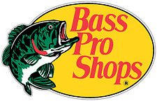 "Bass Pro Shops Fishing Fish Car Bumper Window Sticker Decal 5""X4"""