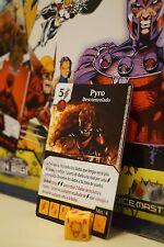 Dice Masters Uncanny X-Men - #111 Pyro - RARA, castellano