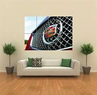 2009 CADILLAC CTS V12 GRILL OF CAR GIANT ART PRINT POSTER PICTURE WALL G1290