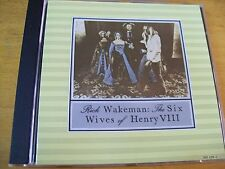 RICK WAKEMAN THE SIX WIVES OF HENRY VIII CD MINT- AAD