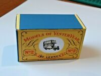 LESNEY MATCHBOX M.O.Y. NO.Y- 7 B.TYPE LONDON BUS CUSTOM DISPLAY/STORAGE BOX ONLY