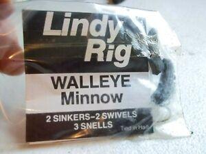 Lindy Floating Rig Walleye Night Crawler Leech RARE VINTAGE Free Shipping