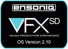 Ensoniq VFX SD Sequencer Operating System Disk v 2.10 OS boot VFXSD