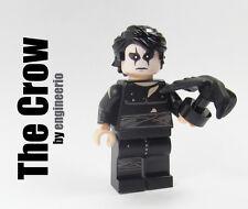 LEGO Custom -- The Crow -- Super heroes Brandon Lee comic book mini figure