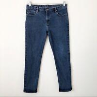 Michael Kors Men's Blue Wash Skinny Jeans Size 34/32 Slim Fit Denim MSRP $175