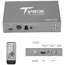 Car HD Digital TV Box Receiver DVB-T MPEG-4 H.264 Analog Tuner Receiver Antenna