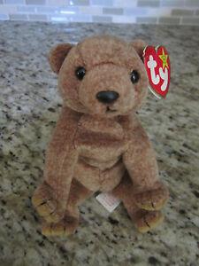 TY Beanie Baby Original Bear PECAN 1999 RETIRED