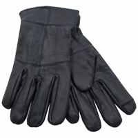 Mens Undercover Heatguard Thinsulate Leather Touch Screen Gloves