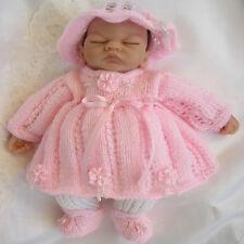 "Creative Dolls Designs Knitting Pattern Dress Set for 10"" Dolls Premature Baby"
