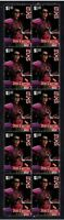 INXS STRIP OF 10 MINT VIGNETTE STAMPS, JON FARRISS