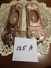 Antique Vintage Brass Victorian Deco/Nouveau Pocket Door Pulls - SET 125 A