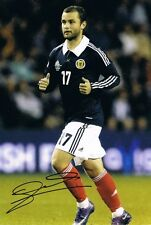 More details for signed shaun maloney scotland autograph photo wigan celtic hull city (2)