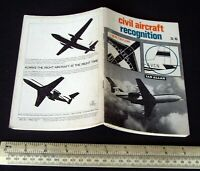 Civil Aircraft Recognition 1968 John Taylor Ian Allan abc-type book for Spotters