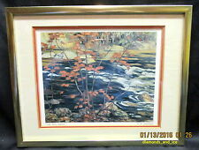 A.Y. JACKSON, The Red Maple, Gallery Framed Print
